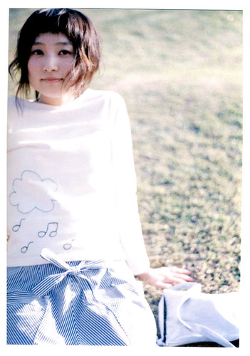 yoshimi with cloud shirt