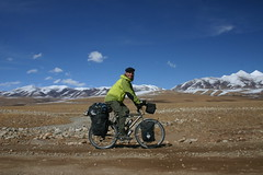Nicolai in front of Mt. Kailash (6656m), Western Tibet...