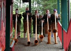 Another Impromptu Alphorn Session