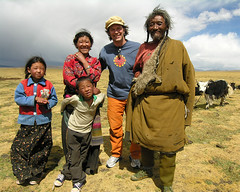 Tibet - People (yewco) Tags: china people tent tibet  nomads