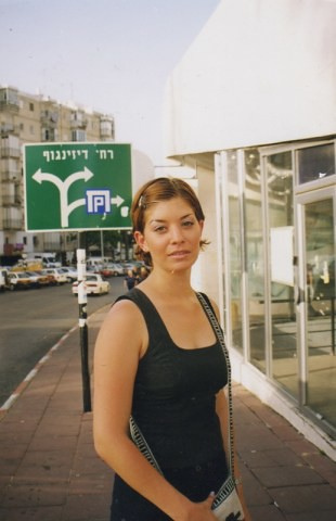 When I was younger so much younger then today. Tel Aviv Israel Spring 1999 von Ihnen.