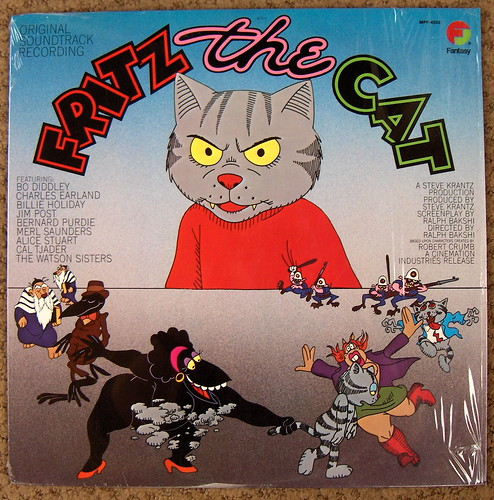 fritz the cat. great album covers