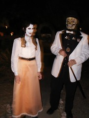 All Souls Costumes (Beaver w/ a Toothbrush) Tags: costumes skeleton tucson ghost az 2006 allsoulsprocession governess