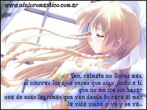 No llores más