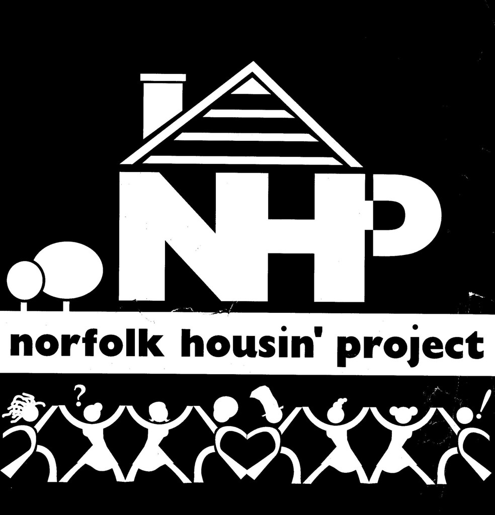 artist: <ARTIST_NAME_META> <ALT_TAGS> Norfolk Housing Project - Logo/Identity for a housemusic promoter