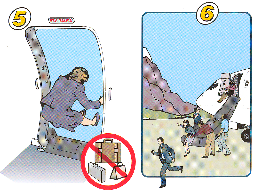 plane safety instructions