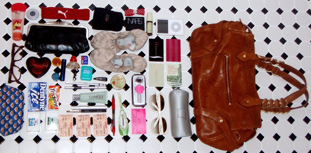 What you'll find in my bag...