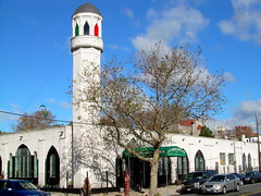 mosque, sunset park (gkjarvis) Tags: new york city nyc brooklyn religious bay minaret muslim islam religion mosque ridge islamic religiousimagery