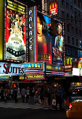 Broadway lights by Dom Dada, on Flickr