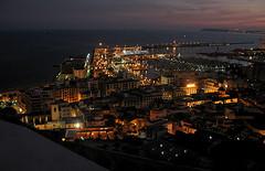 Alicante harbor (Marlis1) Tags: espaa spain bravo nightshot alicante oceanview abigfave