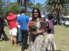Yes, I caught the bouquet (Princess_Fi) Tags: wedding rosebay sharkisland