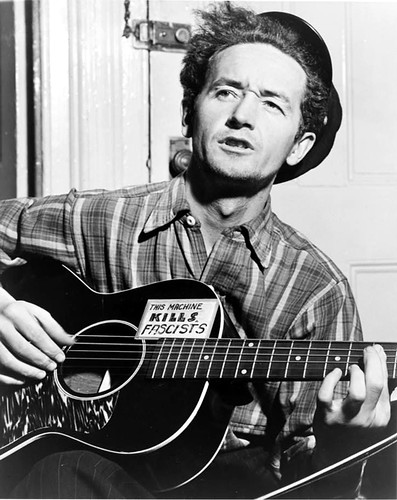 woody kills fascists - WOODY GUTHRiE
