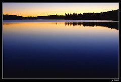 Tranquility (Lake of Two Rivers) (Jerry Ting) Tags: sunset lake ontario canada dusk algonquin tworivers superaplus aplusphoto