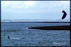 Kite Relief (Catching Magic) Tags: ocean sea newzealand kite water coast surf wind olympus waikato e300 tiraudan raglan