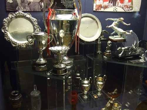 Man United Trophy Cabinet