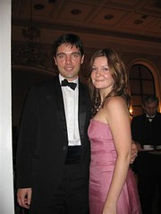 Ian (the other one) and Kate (alicatt) Tags: belgrade blacktie marineballus
