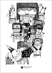 (malota) Tags: moleskine illustration ink drawing character sketches dibujo malota personaje ilustracin