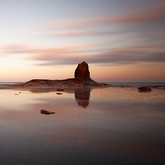 Black Nab (mystery.me) Tags: longexposure sea seascape reflection 20d rock sunrise canon landscape coast yorkshire whitby land northyorkmoors 1022mm mysteryme saltwickbay ndgrad yorkshirecoast 10stop blacknab garyshrimpling