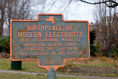 Birthplace of Modern Electricity marker