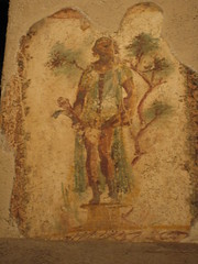 Prostitution frescoes (Greg McElhatton) Tags: vacation italy art archaeology ruins prostitute prostitution pompeii vesuvius