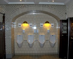 A day off... part 3 (Little Niels) Tags: tiles urinals