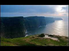 Cliffs of Moher, Ireland (GoodMoon) Tags: ocean ireland sunset irish grass landscape coast cliffs moher specland impressedbeauty goodmoon