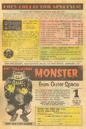 Vintage Ad #101 - Coins and Monsters