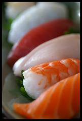 Sushi (barron) Tags: sushi shrimp japanesefood ebi