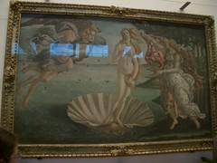 La naissance de Vénus, par Boticcelli