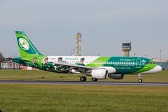 EI-DEI (Daniel Hobbs | Spot2Log) Tags: airplane aircraft dublin airport dub eidw dublinairport airbus speciallivery aerlingus