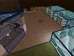 Second Life BB 40 (Gary Hayes) Tags: secondlife bigbrother housemates xmastree challenges endemol muve environmentdesign virtualrealitytv tvformat