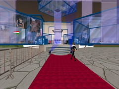 Second Life BB 18 (Gary Hayes) Tags: secondlife bigbrother housemates xmastree challenges endemol muve environmentdesign virtualrealitytv tvformat