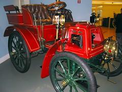 Vintage car at the Frick!
