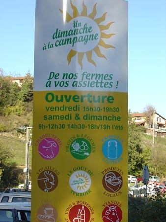 Un Dimanche à la Campagne à Thurins