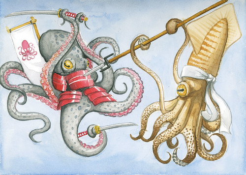 Octopus v. Squid
