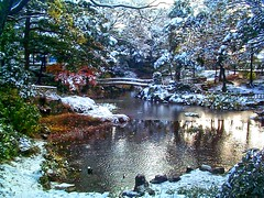 Japanese Garden (Steve-kun) Tags: camera bridge autumn trees winter snow cute art canon garden japanese photo sony stephen jp nagoya  aichi japan  flickrcom dreamjournal photoghraphy abigfave stephendraper anawesomeshot favoritegarden httpwwwflickrcomgroupsforeveryone nagoyacity  templesshrinescastlesofjapan stevedraperpictures draperphotography stephendraperphotography  fli
