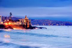 Vina del Mar. Castillo Wulff. Foto de Antonio Ljubetic (Bracani....Antonio Ljubetic) Tags: chile castle valparaiso wolf via dusk castillo vina vinadelmar viadelmar wulf wulff castillowulff castillowulf castilloset ilovecastillowulf