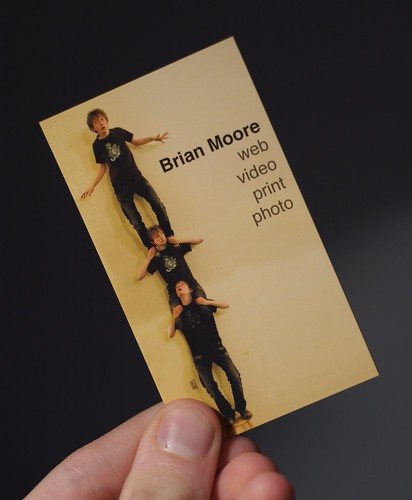 Front of New Business Card