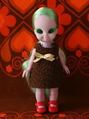brownknitdress_01 (Helena / Funny Bunny) Tags: doll blythe 1972 embla olds portofolio funnybunny emeraldwitch fbfashion