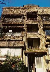 fragile (gracias!) Tags: winter film japan architecture tokyo apartment pentax aoyama omotesando mz5  dojunkaiapartment