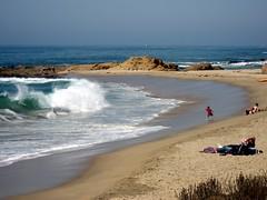 Big waves at the beach