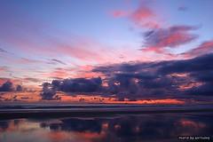 Good Morning (anthonyko) Tags: ocean sea newzealand cloud sun beach sunrise r1 tauranga bayofplenty mtmanganui sonyr1 nohdr