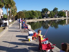 Huck Finn Kid's Fishing Festival at Colonial L...