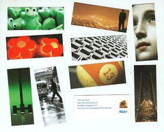 My Moo Cards Arrived (Thomas Hawk) Tags: light signs man flower animal ball walking flickr thomas hawk frog fliker minicards kkfav moocards moocom