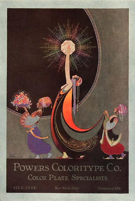 Fred Packer, Powers Coloritype Co. Ad, 1920s