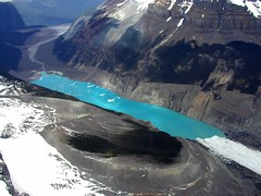 BH871 Glacial Lake (listentoreason) Tags: canada geotagged flying events scenic places vista banff activities aerialphotograph