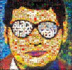 It's Great When You're Straight, Yeah!  Photomosaic