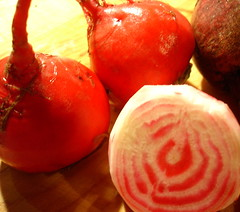 beets, candy-striped and otherwise