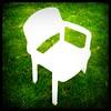 things to do: 5 must take gardenfurniture inside (kiplingflu) Tags: white green grass 1025fav garden chair groen fav1025 furniture space favme negative fv10 save10 tuin must stoel meubels gartenstuhl i500