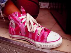 Converse & Pink